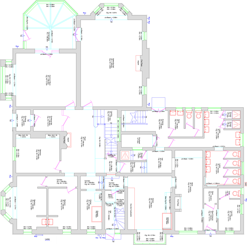 Staffordshire Measured Building Surveys Covering The